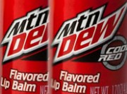 Mountain Dew Code Red Flavored Lip Balm Review