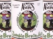 Avery's Zombie Brain Juice Totally Gross Soda Review