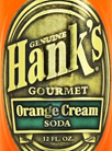 Hank's Gourmet Orange Cream Soda